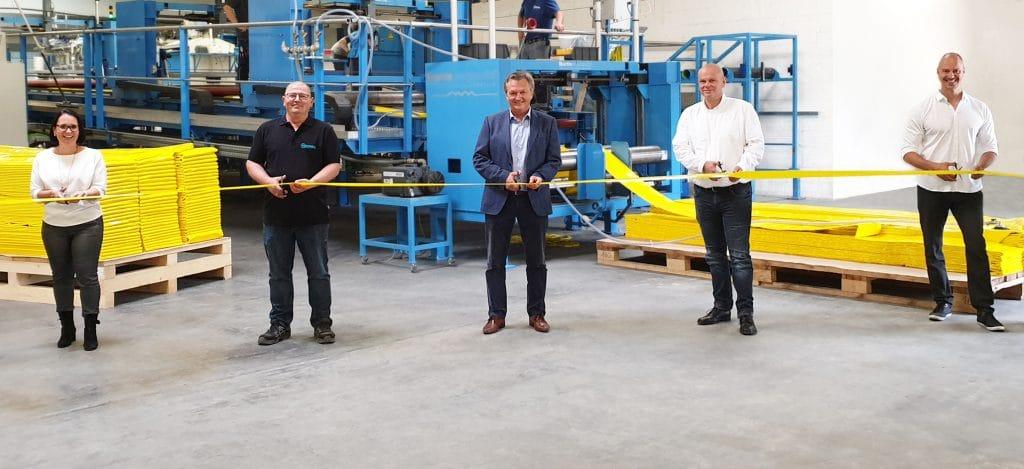 iMPREG Produktionsstandort Eröffnung-Gärtringen