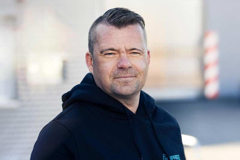 Leiter der Anwendungstechnik Oliver Vorlop bei IMPREG