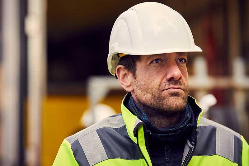 Construction worker from IMPREG