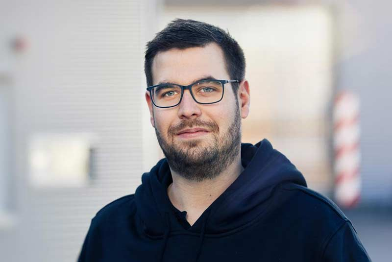 Dominik Steinmeier junior application engineer IMPREG GmbH