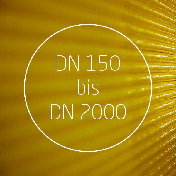 GL16 Specifications DN 150 up to DN 2000