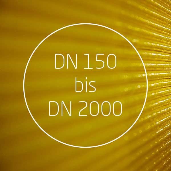 GL16 Spezifikationen DN 150 bis DN 2000