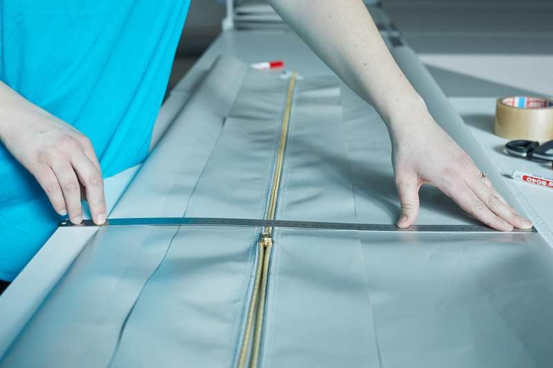IMPREG Zusatzprodukte Stützkappen mit Reißverschluss-Mechanismus