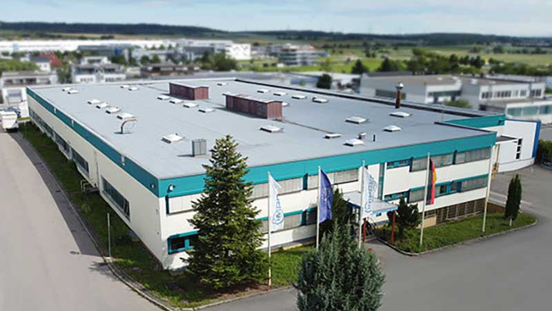 Opening of the production site in Gärtringen 2020 - IMPREG history