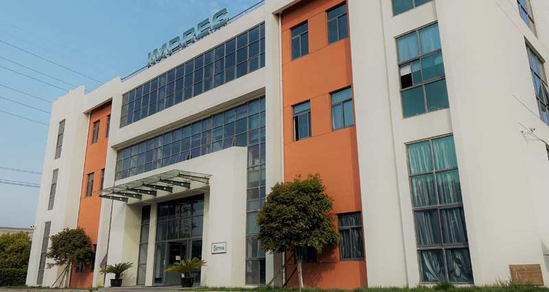 Production sites IMPREG here China Asia