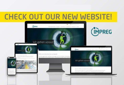 Website Relaunch IMPREG Homepage
