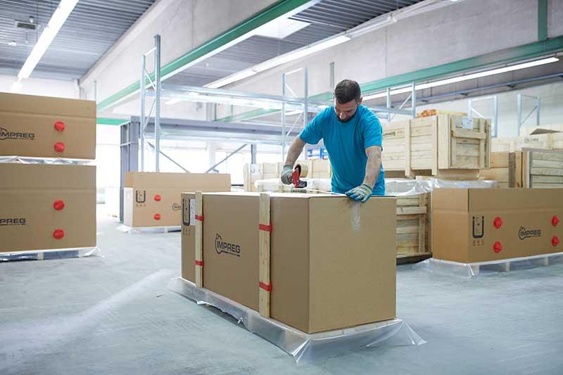 Zuverlässiger und sicherer Transport unserer Produkte